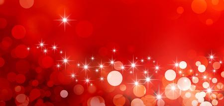 별빛 반짝 반짝이 빨간색 배경