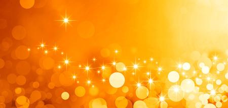Glanzende gouden achtergrond in het sterrenlicht en schittert Stockfoto - 45947931