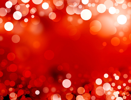 Shiny red background with blurry circles Reklamní fotografie - 45948835