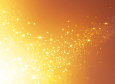 shiny gold: Shiny gold background in explosive star lights