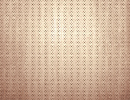 regularly: Grunge background made of paper, wood or leather perforated with regularly spaced little holes Stock Photo