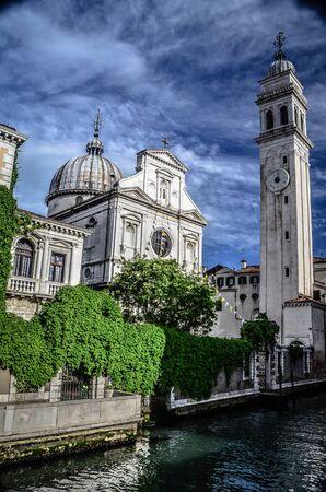 San Giorgio dei Greci sit along the rio del Greco, Venice, Italy.