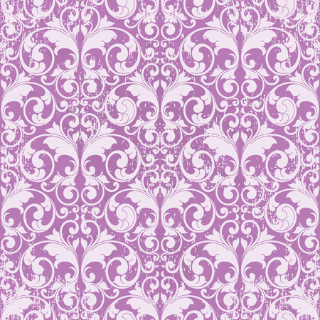 scroll shape: Dirty abstract scroll shape like butterfly purple toned Illustration