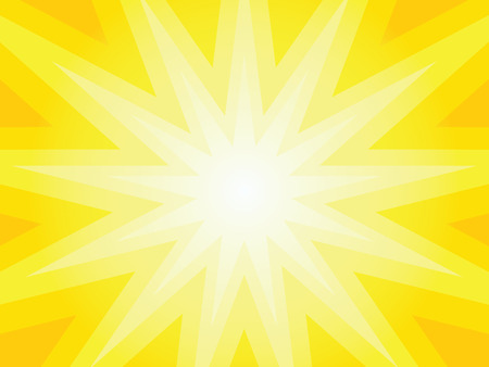 simple background: Simple sunlight vector background