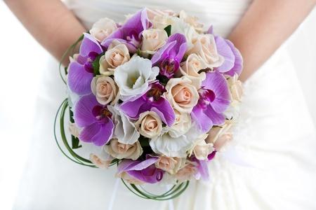 bouquet of orchids photo