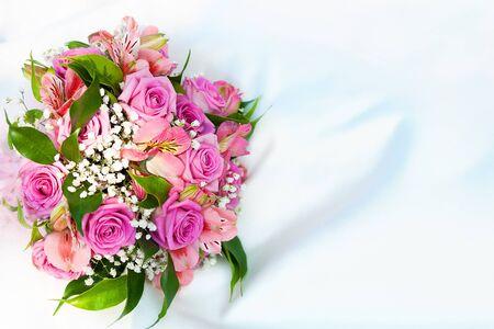bridal bouquet: bouquet of flowers Stock Photo
