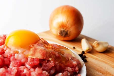 carne macinata: Raw carne macinata