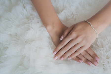 bride s hands photo