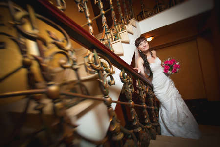 bride in the classic interior Stock Photo - 22658206