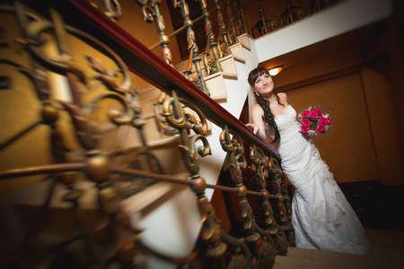 bride in the classic interior Stock Photo - 22658206