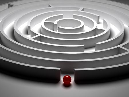 complex system: 3D  Circular maze