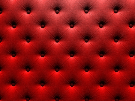 render 3d: Buttoned on the red Texture. Repeat pattern. render 3D