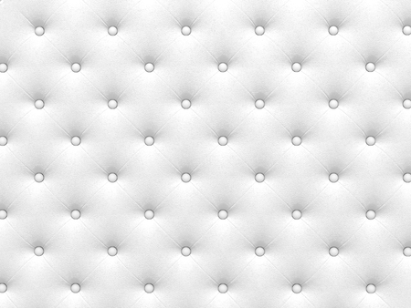 render 3d: Buttoned white Texture. Repeat pattern. render 3D Stock Photo