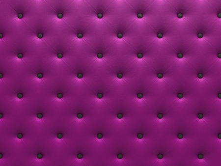 buttoned: Buttoned purple Texture. Repeat pattern. render 3D
