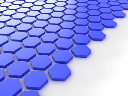 blue metallic background: blue metallic background with hexagons and place