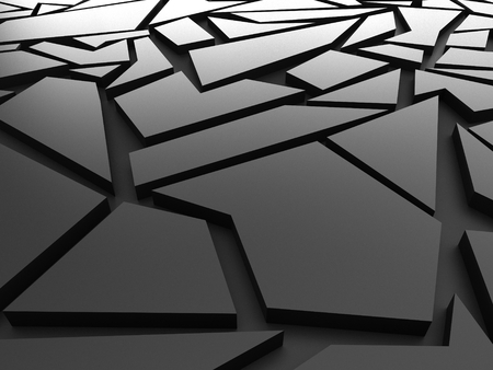 chaos: black chaos mesh background rendered