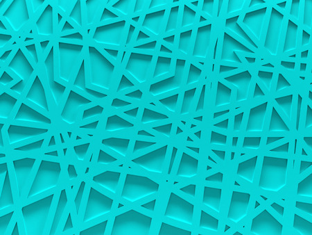 chaos: turquoise chaos mesh background rendered