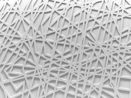 chaos: white chaos mesh background rendered