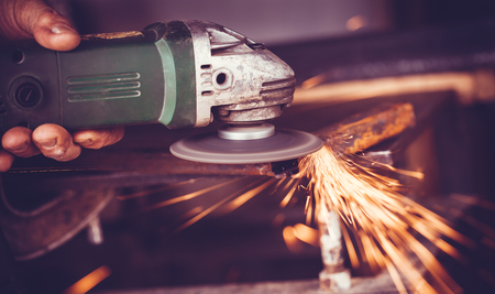 metalline: overwrites the master of welding seams angle grinder