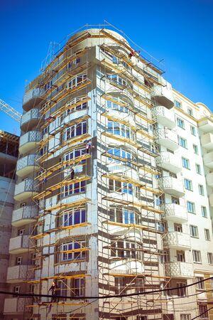 multy: construction of multi-storey modern buildings