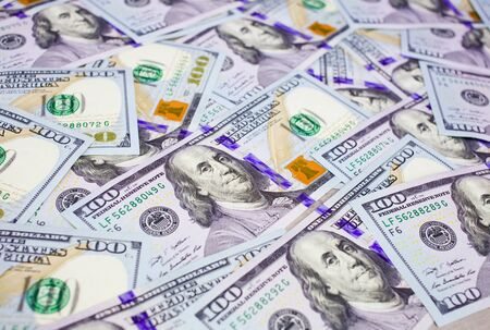 onehundred: new 100 dollar bill Stock Photo