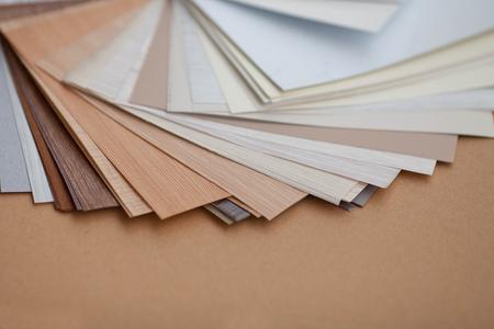 palette de couleurs pour meubles Banque d'images