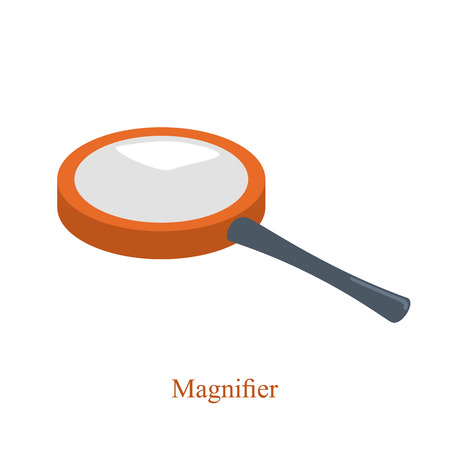 enlarge: magnifier to enlarge small objects for scientific purposes.