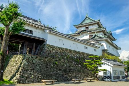 Wakayama castle in Japan 스톡 콘텐츠