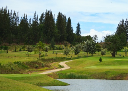 golf land Stock Photo - 10983225
