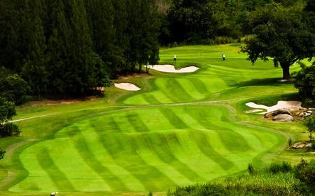 ゴルフの土地