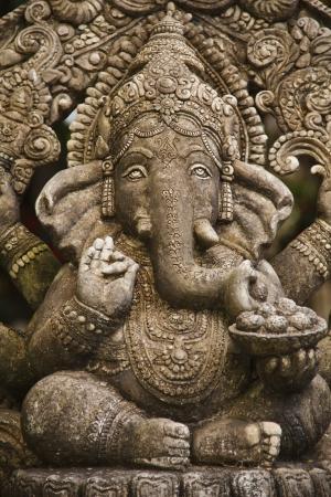 ganesh: Dios Ganesh estatua de Hindo templo en Bangkok, Tailandia