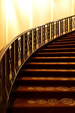Hotel stairs.  Stock Photo - 12017806