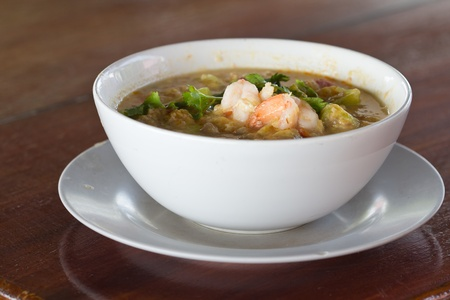 favorite soup: Thailand Tom Yum Kung is a spicy and delicious