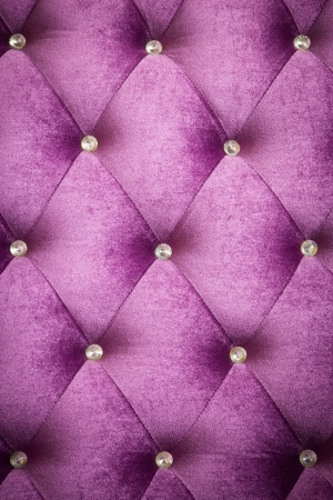 Purple velvet cushion is beautiful backdrop. photo