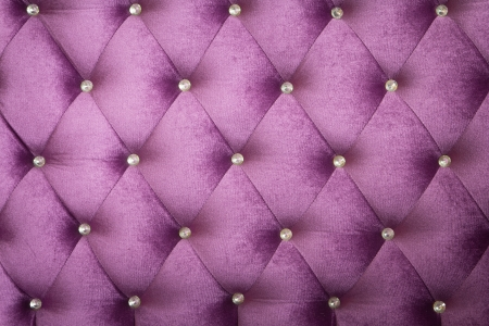 Purple velvet cushion is beautiful backdrop. photo