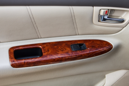 modern car door panel control photo