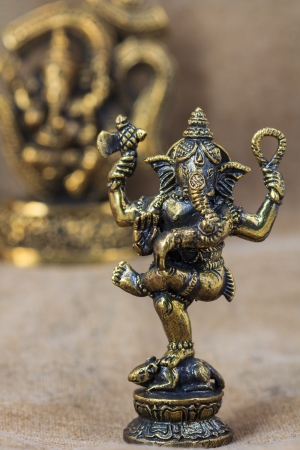 One of most supreme god in Indian culture, Ganesh, god of success photo