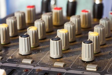 The old tune audio in a recording studio. photo