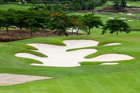 Golfplätze und Baum in Hua Hin, Thailand Standard-Bild - 33748734