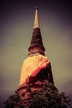 ayuthaya: Temple Wat Yai Chai Mongkhon of Ayuthaya Province Thailand
