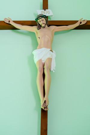 paternal: Statue of jesus on the Cross