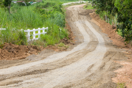 dirt: Dirt road  Stock Photo