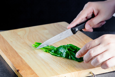 roughage: Chef chopped chinese kale