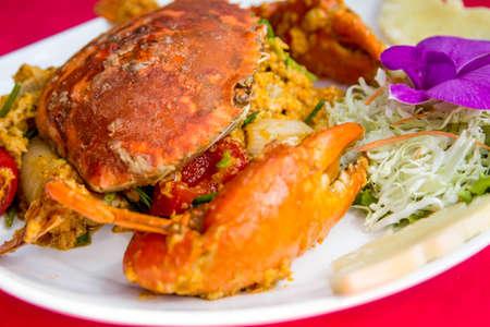 curry powder: Stir-fried crap �with Curry Powder