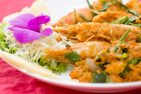 curry powder: Stir-fried shirmp �with Curry Powder