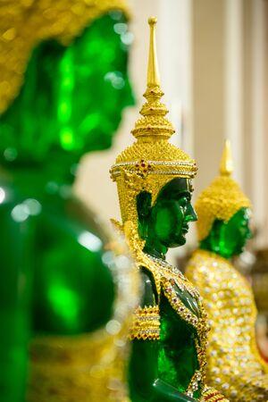 Beautiful emerald buddha statue in Thailand
