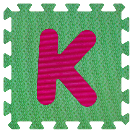 Part of the puzzle letter K