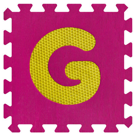 Part of the puzzle letter G