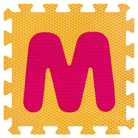 Part of the puzzle letter M