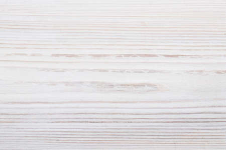 Texture of white painted old pine board